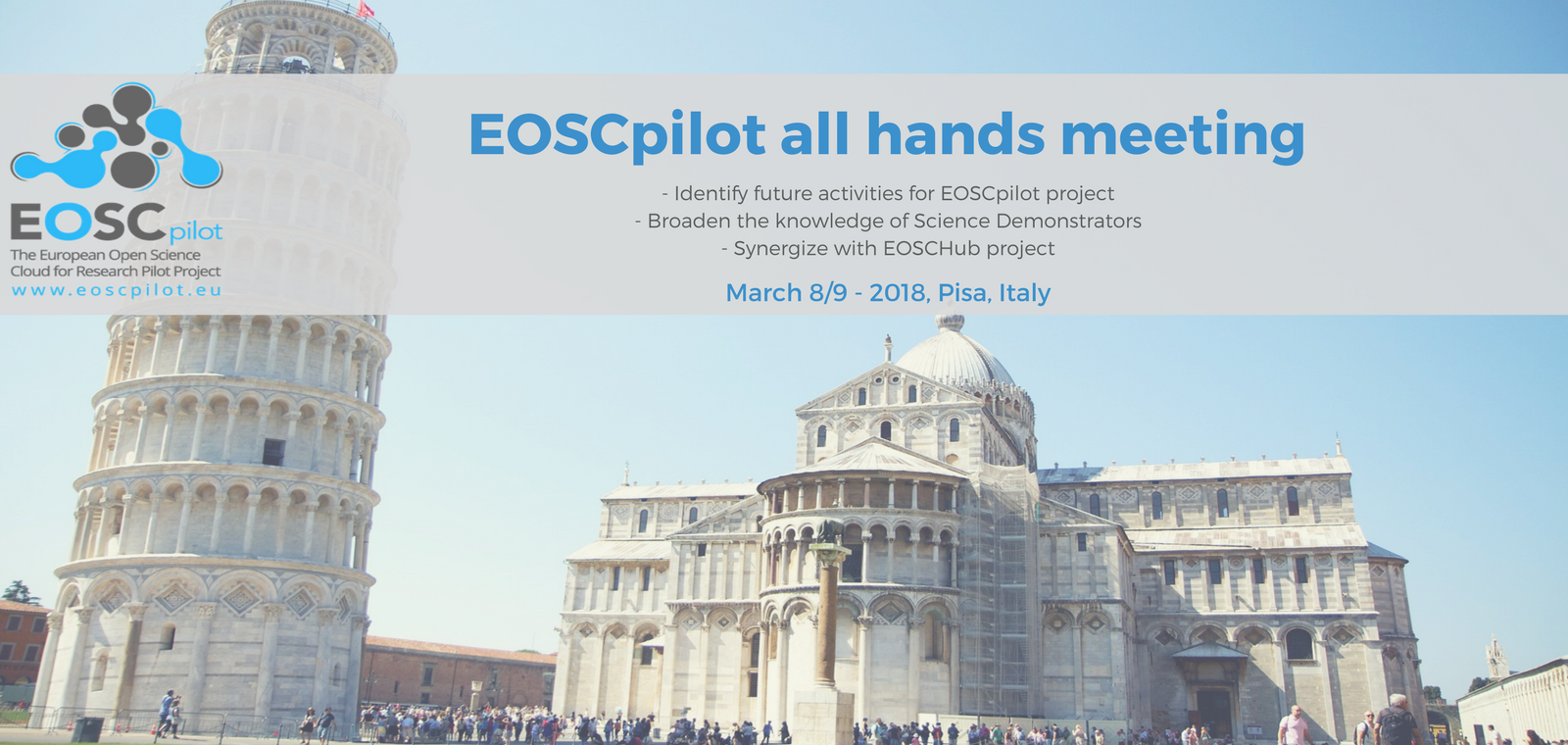 EOSCpilot All Hands Meeting