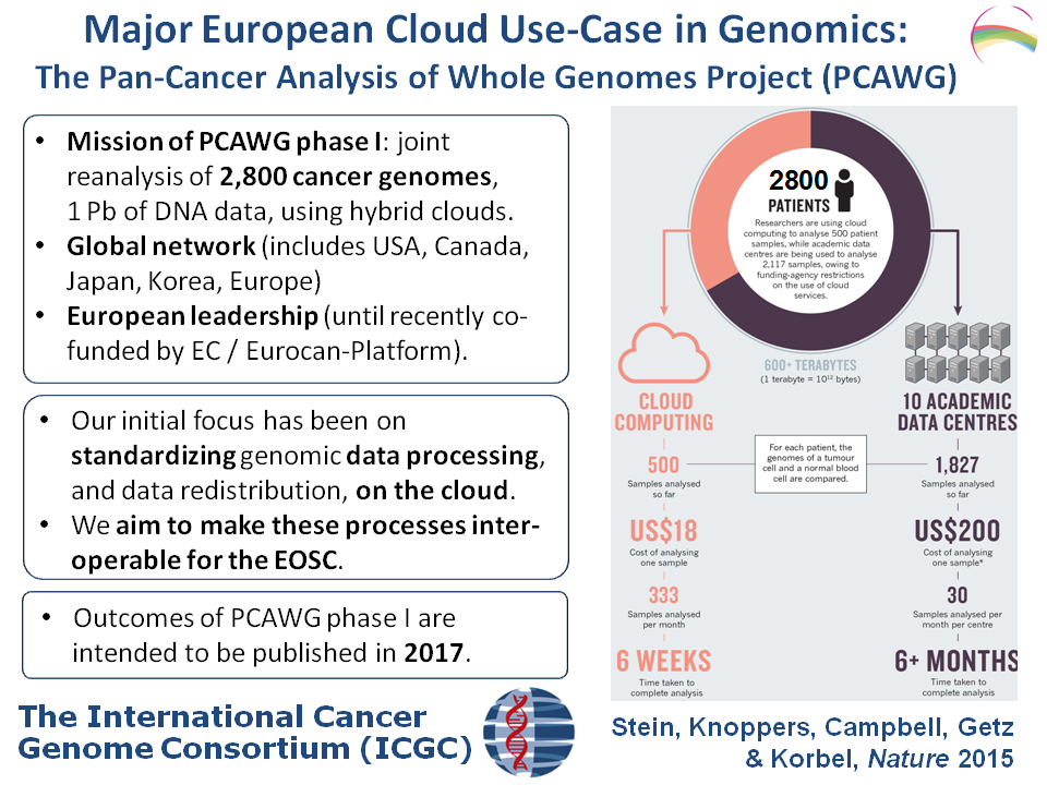 The Pan-Cancer Analysis of Whole Genomes Project (PCAWG)
