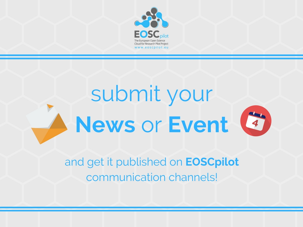 Play an active role in the EOSCpilot project!