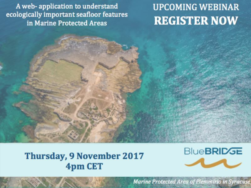 Webinar: A web-application to understand ecologically important seafloor features in Marine Protected Areas