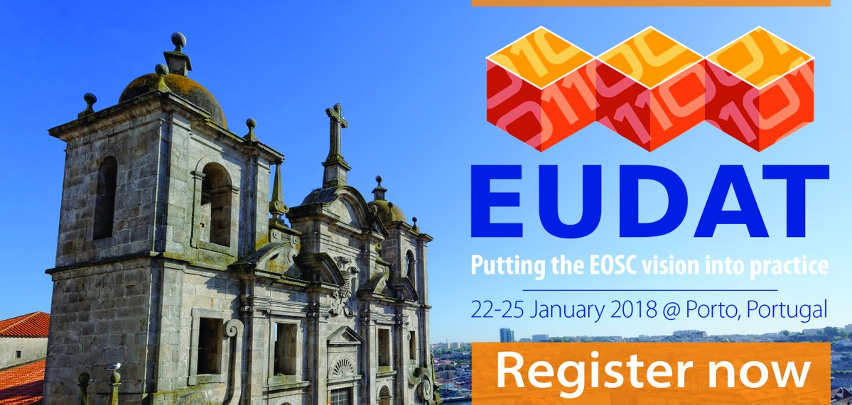 EUDAT Conference: Putting the EOSC vision into practice