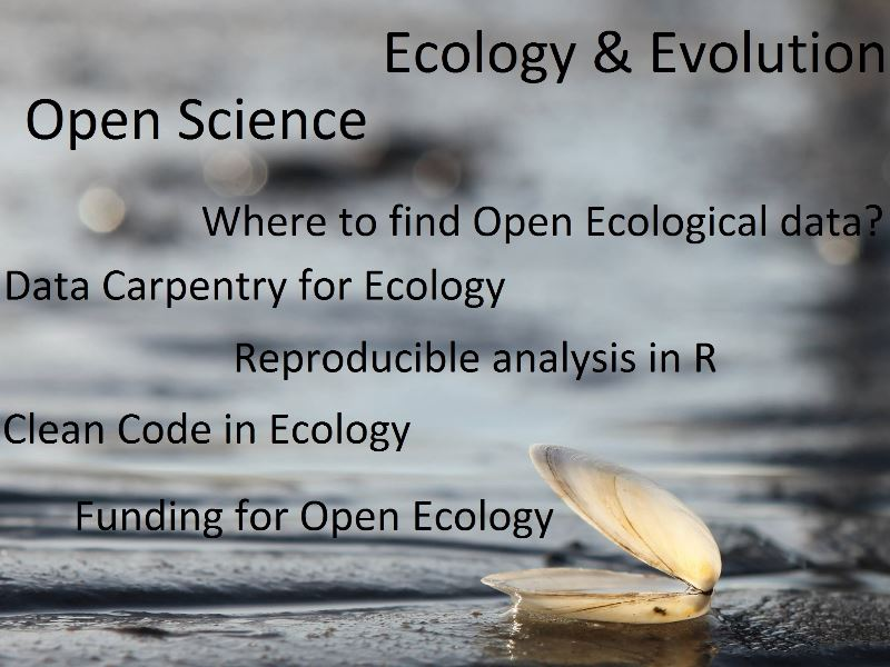 Open Science in Ecological and Evolutionary Research
